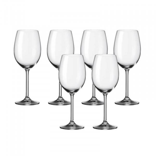 Leonardo Daily Rotweinglas 6er-Set