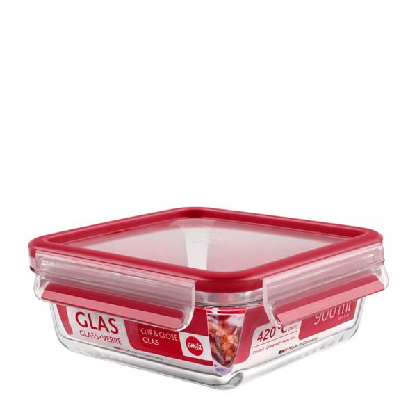 EMSA Clip Close Glas Frischhaltedose, 0,9 Liter
