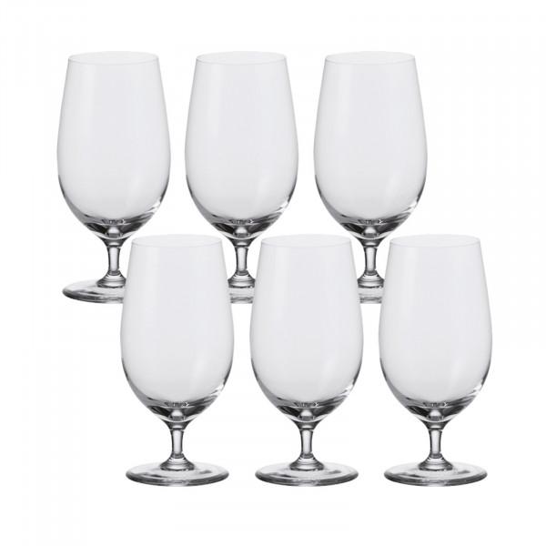 Leonardo Ciao+ Bier Glas, 6er-Set